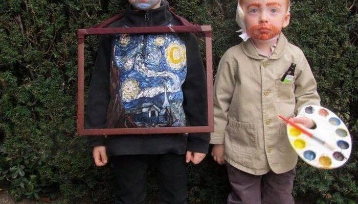 Adorable Van Gogh costume